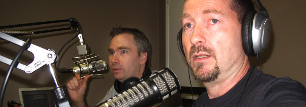 Andrew Mc Givern and Bob Garlick Interviewing
