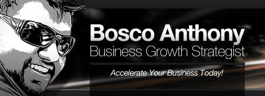 Bosco Anthony on Context Marketing